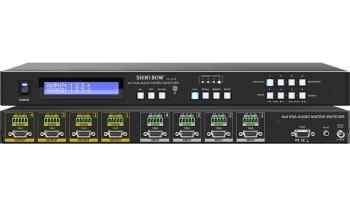 4x4 VGA-AUDIO MATRIX SWITCHER