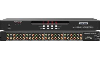 4x4 COMPONENT-DIGITAL-AUDIO MATRIX SWITCHER