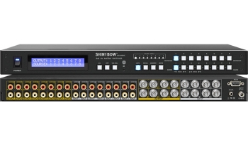 8x8 COMPOSITE VIDEO•AUDIO MATRIX SWITCHER