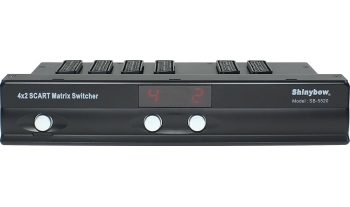 4x2 SCART MATRIX SWITCHER