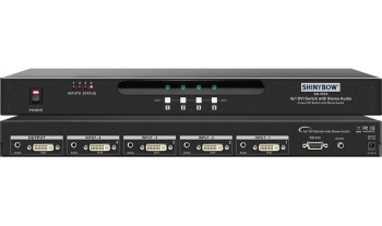 4x1 DVI Routing Switcher