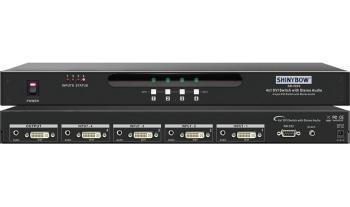 4x1 DVI Routing Switcher
