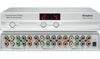 4x2 COMPONENT AUDIO MATRIX SWITCHER