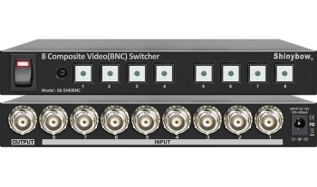 8x1 COMPOSITE VIDEO(BNC) SWITCHER