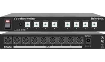 8x1 S-VIDEO ROUTER SWITCHER