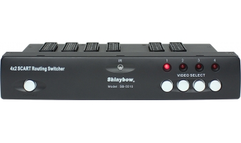 4x2 SCART ROUTING SWITCHER