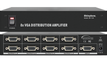 1x8 VGA DISTRIBUTION