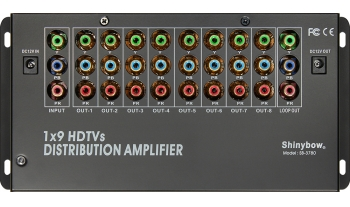 1x9 COMPONENT•DIGITAL•AUDIO DISTRIBUTION AMPLIFIER