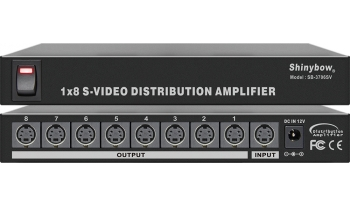 1x8 S-VIDEO DISTRIBUTION AMPLIFIER