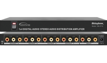 1x4 DIGITAL•VIDEO•AUDIO DISTRIBUTION AMPLIFIER