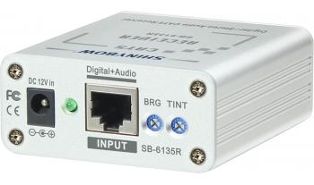 Composite Video•Digital•Audio Receiver