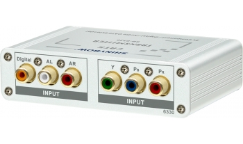 4Way Component Video•Digital•Audio Transmitter