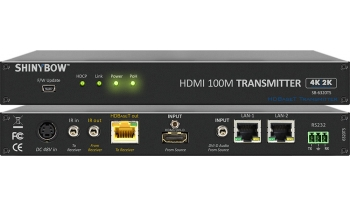 HDMI HDBaseT Extender with Auxiliary Audio