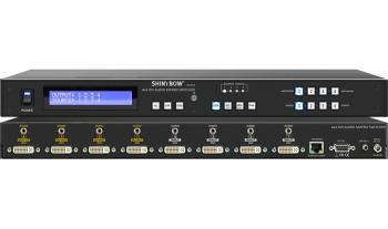 4x4 DVI-Audio Matrix Switch