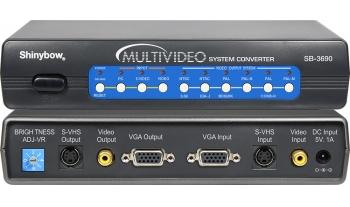 CV/SV/VGA  To  CV/VGA/HDMI  MULTI-VIDEO CONVERTER