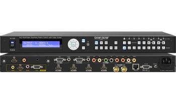 9x2 Multi-Video Matrix Switcher w/ Scaler