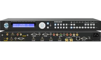 9x2 Multi-Video Seamless Matrix Switcher w/ Scaler