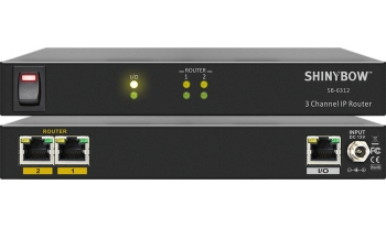 3 Channel IP Router