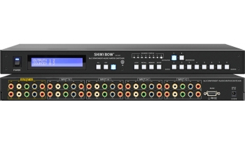 8x2 COMPONENT•AUDIO MATRIX SWITCHER