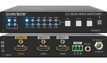 2:1 HDMI 4K2K Switcher