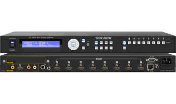 8:2 HDMI 4K2K Routing Switcher with Mic / Aux