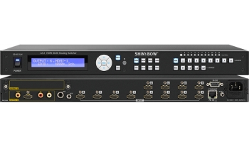 12:2 HDMI 4K2K Routing Switcher with Mic / Aux