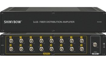 1x16 Fiber Distribution Amplifier