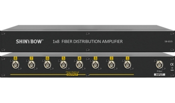 1x8 Fiber Distribution Amplifier