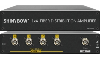 1x4 Fiber Distribution Amplifier