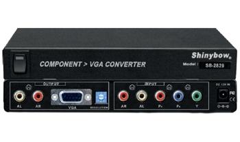 COMPONENT  To  VGA  CONVERTER