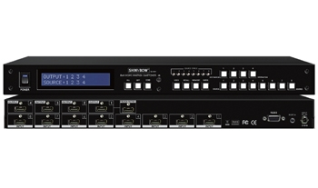 8x4 HDMI MATRIX SWITCHER