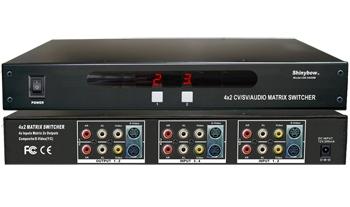 4x2 S-Video+Composit+Audio