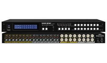 8x8 AV MATRIX SWITCHER
