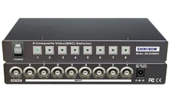 8x1 Composite (BNC) Switcher