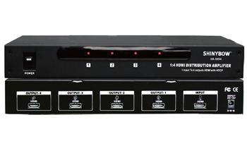 1x4 HDMI Distribution Amplifie