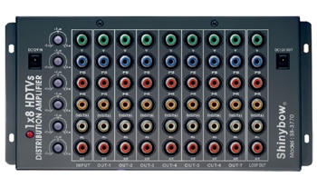 1x7 COMPONENT • DIGITAL • AUDIO DISTRIBUTION AMPLIFIER