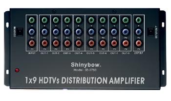 1x9 COMPONENT • DIGITAL • AUDIO DISTRIBUTION AMPLIFIER