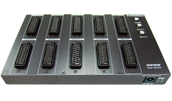 2x1x8 SCART SWITCHER-DISTRIBUTION AMPLIFIER