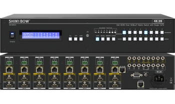 8x8 HDMI & HDBaseT Over Single CATx Matrix Routing Switch