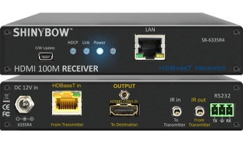 HDMI HDBaseT Extender with Ethernet