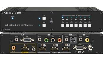 7x1 Multi Video To HDMI Switcher
