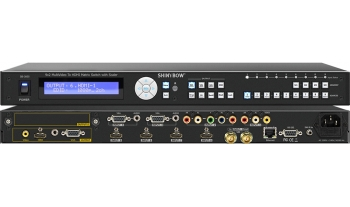 9x2 Multi-Video Routing Switcher w/ Scaler
