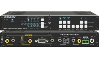 Video To HDMI Scaler Switcher